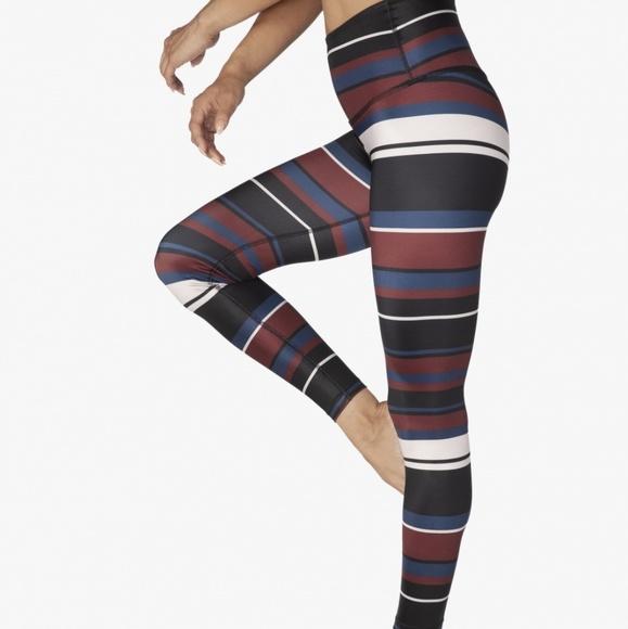 b407fb1f4b Beyond Yoga Pants | Nwt Striped Active Leggings | Poshmark